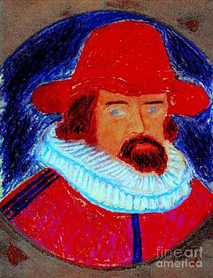 Poster featuring the painting Sir Francis Bacon by Richard W Linford