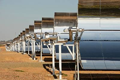 Solucar Solar Complex Poster by Ashley Cooper