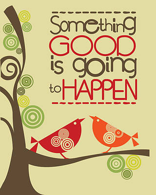 Something Good Is Going To Happen Poster