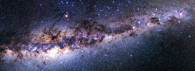 Southern View Of The Milky Way Poster