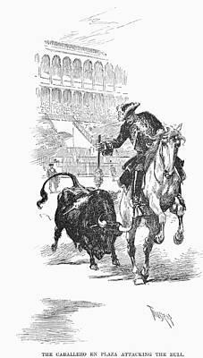 Spain Bullfighting, 1891 Poster by Granger