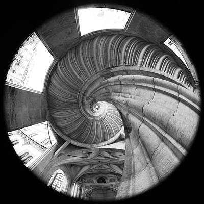 Spiral Staircase Poster by Falko Follert