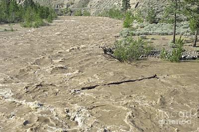 Spring Flood, Nicola River, Canada Poster