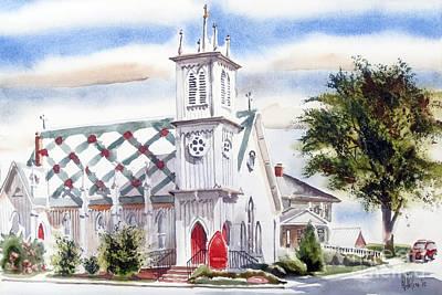 St Pauls Episcopal Church  Poster by Kip DeVore
