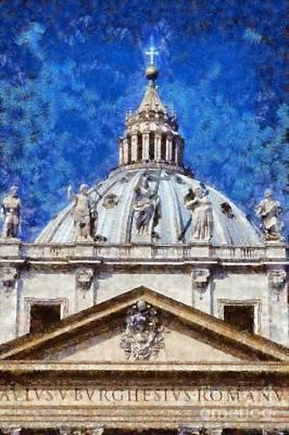 St Peter In Vatican Poster