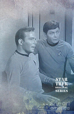 Star Trek Kirk And Mccoy Poster