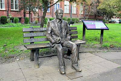 Statue Of Alan Turing Poster by Martin Bond