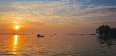 Sunrise On The Chesapeake Bay Poster
