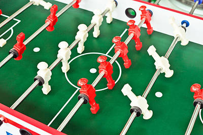 Table Football Poster