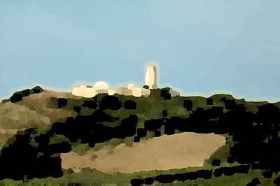 Tarquinia Landscape Poster