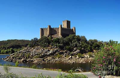 Templar Castle Of Almourol Poster by Jose Elias - Sofia Pereira