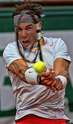 Tennis Star Rafael Nadal Poster