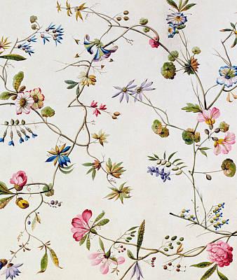 Textile Design Poster