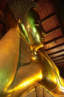 Thailand, Bangkok, Wat Pho, Buddhist Poster by Tips Images