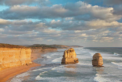 The 12 Apostles, Great Ocean Road Poster by Martin Zwick