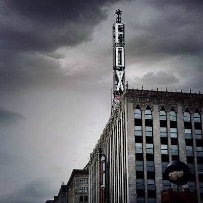 The Detroit Fox Poster by Natasha Marco