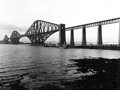 The Forth Bridge Poster by Underwood Archives
