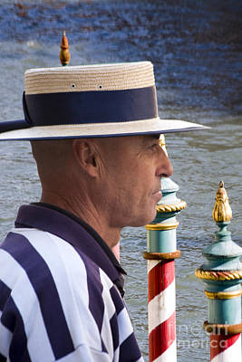 The Gondolier Poster by Heiko Koehrer-Wagner