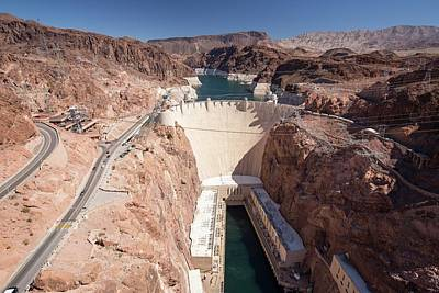 The Hoover Dam And Lake Mead Poster