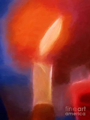 The Light Poster by Lutz Baar