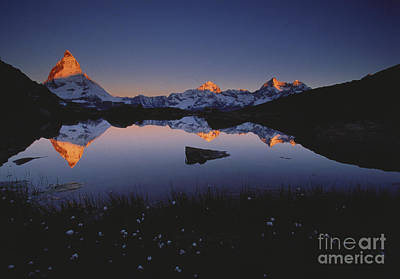 The Matterhorn At Dusk Poster by Art Wolfe