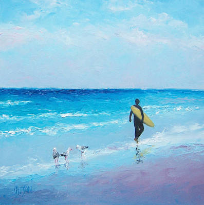 The Surfer Poster by Jan Matson