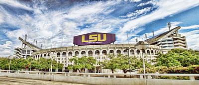 Tiger Stadium Panorama Poster by Scott Pellegrin