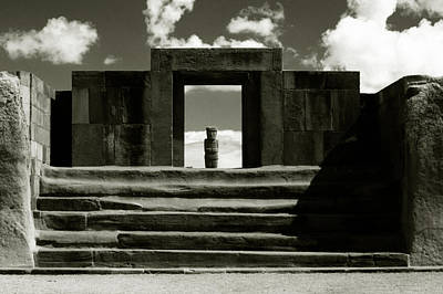 Poster featuring the photograph Tiwanaku by Amarildo Correa