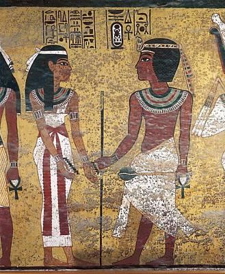 Tomb Of Tutankhamun. S.xiv Bc. Egypt Poster