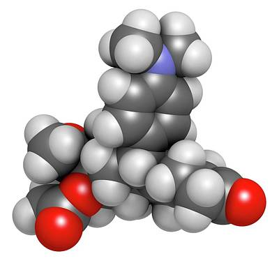 Ulipristal Acetate Contraceptive Drug Poster by Molekuul