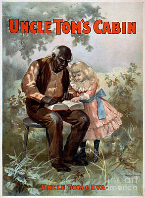 Uncle Toms Cabin, C1899 Poster