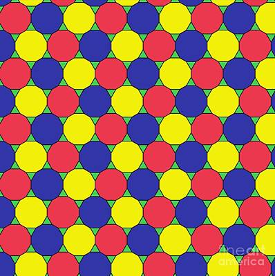 Uniform Tiling Pattern Poster by Spl