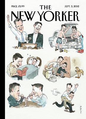 New Yorker September 3rd, 2012 Poster