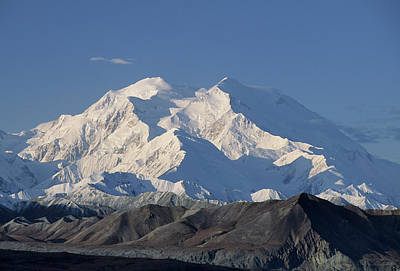 Usa, Alaska, Mount Mckinley, Denali Poster by Gerry Reynolds