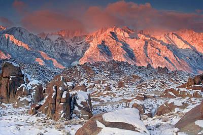 Usa, California, Eastern Sierra Poster by Jaynes Gallery