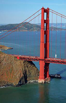 Usa, California, San Francisco, Golden Poster by David Wall