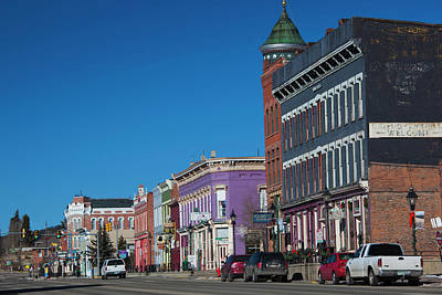 Usa, Colorado, Leadville, Downtown Poster