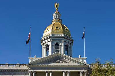 Usa, New Hampshire, Concord, New Poster