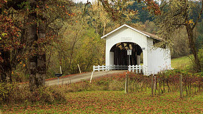 Usa, Oregon, King's Valley, Harris Poster