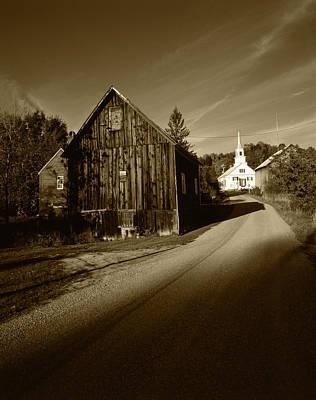 Usa, Vermont, Northeast Kingdom, Waits Poster by Walter Bibikow