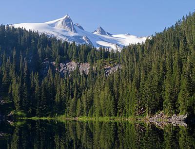 Usa, Washington State, Glacier Peak Poster