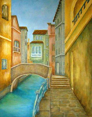 Venezia Poster by Pamela Allegretto