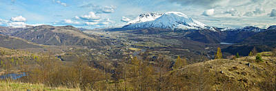 View Of Mount St. Helens With Dramatic Poster by Panoramic Images
