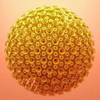 Virus Particle Poster