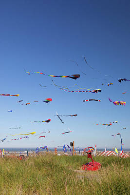 Wa, Long Beach, International Kite Poster by Jamie and Judy Wild
