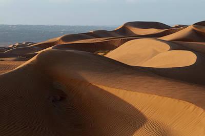 Wahiba Sands Desert, Oman Poster