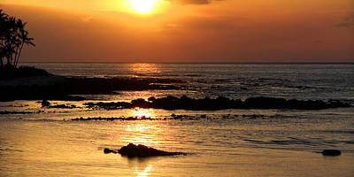 Waikoloa Sunset Poster