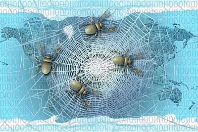 Web Crawlers Poster