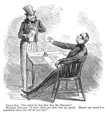 Wendell Phillips (1811-1884) Poster by Granger
