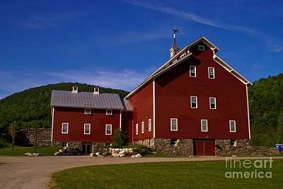 West Monitor Barn. Poster